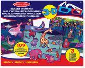 Melissa & Doug reusable stickerboek dieren
