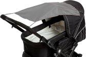 Altabebe - Zonnedoek kinderwagen - Schaduwdoek buggy - Universeel zonnescherm met UV 50+ bescherming - Grijs