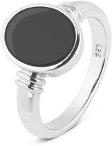 Parte Di Me 925 Sterling Zilveren La Sirena Serchio Ring  (Maat: 52) - Zilver,Zwart