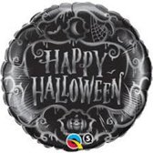 Folieballon Happy Halloween (zonder helium)