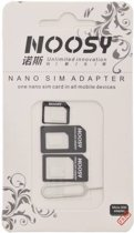 Noosy nano-SIM adapter kit 3-pack