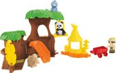 Fisher-Price Little People Dieren Boomhut - Speelfigurenset