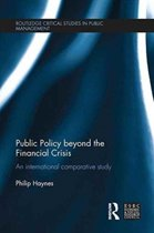 Public Policy beyond the Financial Crisis