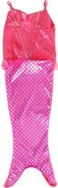 Verkleedjurk zeemeermin roze