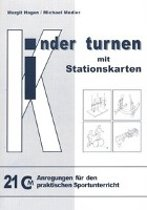 Kinder turnen mit Stationskarten