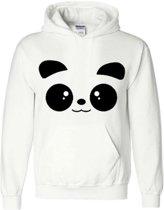 hippe sweater   hoodie   panda   maat medium