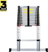 ALDORR lTelescoop ladder 3.80 meter - Stabilisatievoet - Soft closing