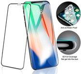 2 Stuks bescherm glas screenprotector Full Cover 9D Ultra sterk voor Iphone X/Xs/11Pro Full Cover 5D Ultra sterk glas bescherming voor iPhone X/Xs/11Pro