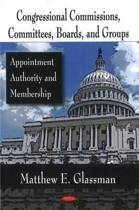 Congressional Commissions, Committees, Boards, & Groups