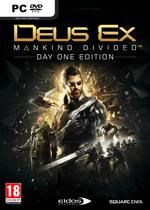 Deus Ex: Mankind Divided Day One Edition - PC