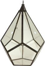 Glazen Lampenkap Antiek Medium