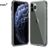 Frosted Transparante iPhone 11 Case - Ultra thin - iPhone Xi - iPhone 11 Hoesje - Clear case
