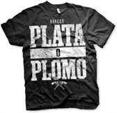 Narcos Plata O Plomo t-shirt heren M