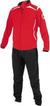 Stanno Forza Poly Suit Senior Trainingspak - Rood - Maat XXXL