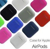 Afbeelding van Air pod case voor Apple - Rood - Airpods hoesje