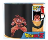 DRAGON BALL - Mug Heat Change - 460 ml - DBZ/ Goku - with box