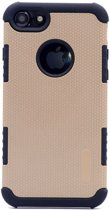 Teleplus iPhone 5s Armour Hybrid Double Layer Cover Case Gold hoesje