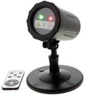 Outdoor Laser Light projector LED - 3 kleuren combinaties- 13 motieven - afstandbediening - waterdicht - Kerst - Party - Halloween