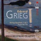 Edvard Grieg: String Quartet, Op. 27; Quartet in F major; Fugue