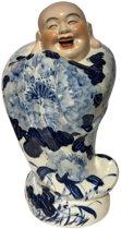 Porseleinen Boeddha Blauw kleding