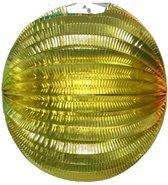 12x Lampion Goud rond - 22cm