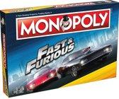 Monopoly Fast & Furious - Engelstalig Bordspel