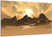 Canvas schilderij Natuur | Wit, Bruin, Grijs | 120x70cm 1Luik