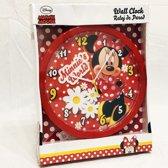 DisneyCorner | Disney | Minnie Mouse | Wandklok | 1 stuk