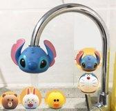 kraanfilter kinderen - waterfilter kinderen - waterkraan filter stitch - waterfilter douche/keuken