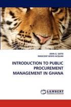 Introduction to Public Procurement Management in Ghana