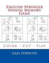 English Springer Spaniel Memory Game