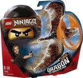 LEGO NINJAGO Drakenmeester Cole - 70645