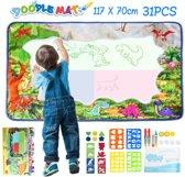Doodle Mat Aqua Magic Tekenmat Kleuren Colors Water Magisch Tekenen Kids Kinderen Spelen Leren Spel Cadeau Verjaardag Geschenk