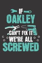 If OAKLEY Can't Fix It