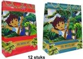 Go Diego Go luxe cadeautas | 2 formaten - 2 design | 12 stuks