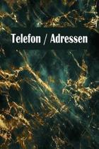 Telefon / Adressen: Telefon und Adressbuch in einem mit Register f�r Adressen