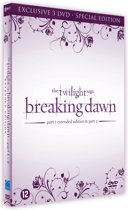 DVD cover van The Twilight Saga: Breaking Dawn Part 1 & Part 2 (Exclusive Special Edition)