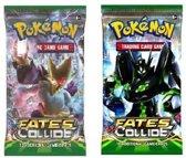 2 pakjes Pokemon Kaarten Fates Collide