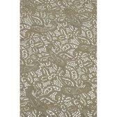 Buiten tafelkleed/tafellaken grijs 140 x 260 cm rechthoekig - Tuintafelkleed tafeldecoratie