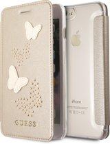 Guess Booktype hoesje voor Apple iPhone 7-8 Plus - Beige