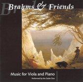 Brahms & Friends - Music for Viola & Piano / Zaslav Duo
