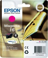 Epson 16 (T1623) - Inktcartridge / Magenta