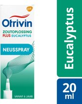 Otrivin Plus Eucalyptus - 20 ml - Neusspray