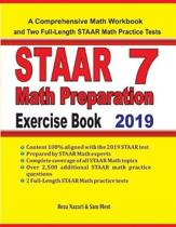 STAAR 7 Math Preparation Exercise Book