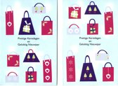 40 Luxe Hallmark Kerst- en nieuwjaarskaarten - Gevouwen kaarten met enveloppen