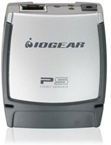 iogear USB 2.0 Print Server, 1-Port