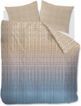 Beddinghouse Marmore - Dekbedovertrek - Eenpersoons - 140x200/220 cm - Blauw