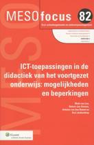 Meso focus 82 - ICT-toepassingen in de didactiek van het voortgezet onderwijs