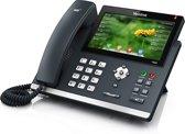 Yealink SIP-T48G - Vaste telefoon - Antwoordapparaat - Zwart
