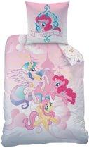 My Little Pony Royally - Dekbedovertrek - Eenpersoons - 140 x 200 cm - Roze